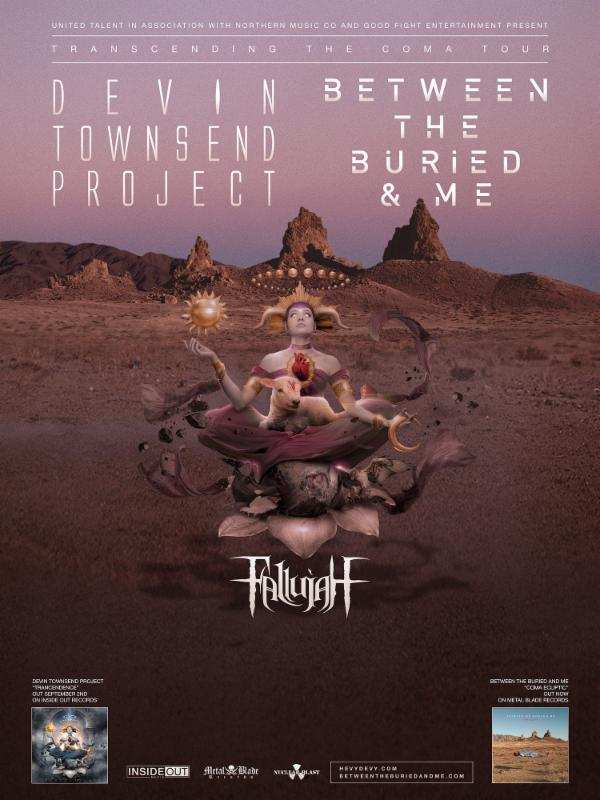 Devin Townsend Project/Between the Buried and me
