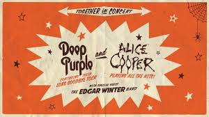 Deep Purple, Alice Cooper, Edgar Winter Group 2017 North American Tour