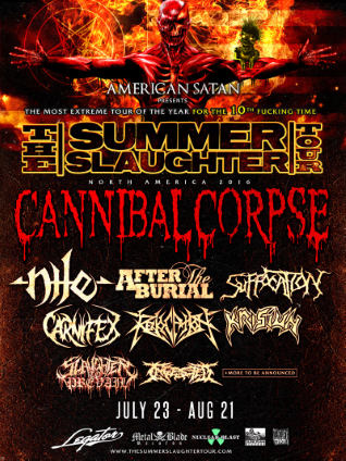 2016 Summer Slaughter