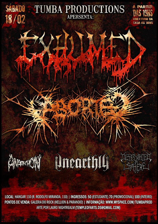 Exhumed, Aborted