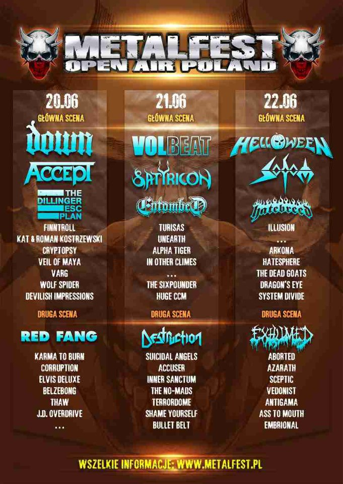 Metalfest Open Air Poland