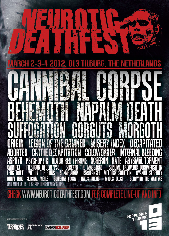 Neurotic Deathfest 2012