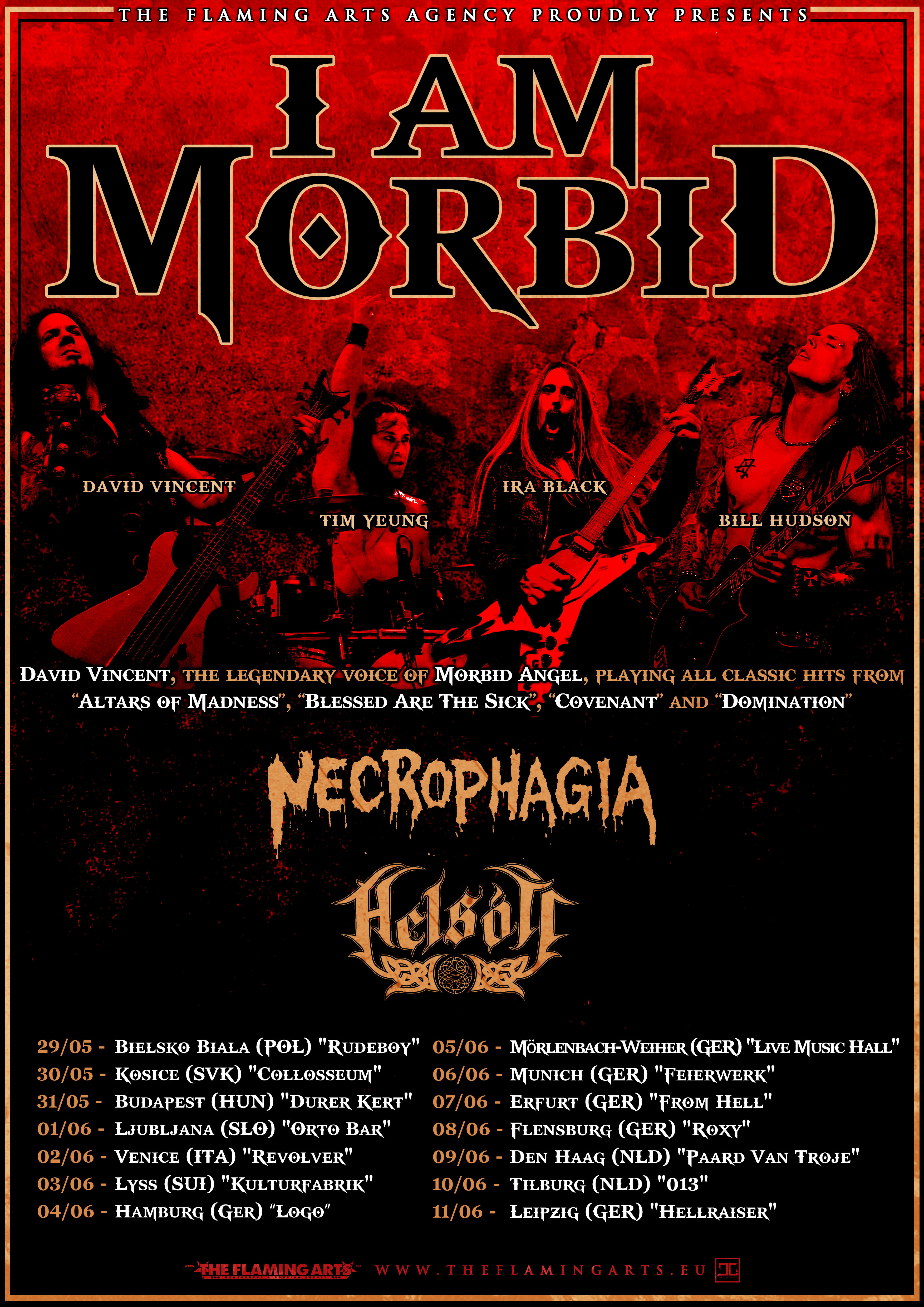 I am Morbid Tour