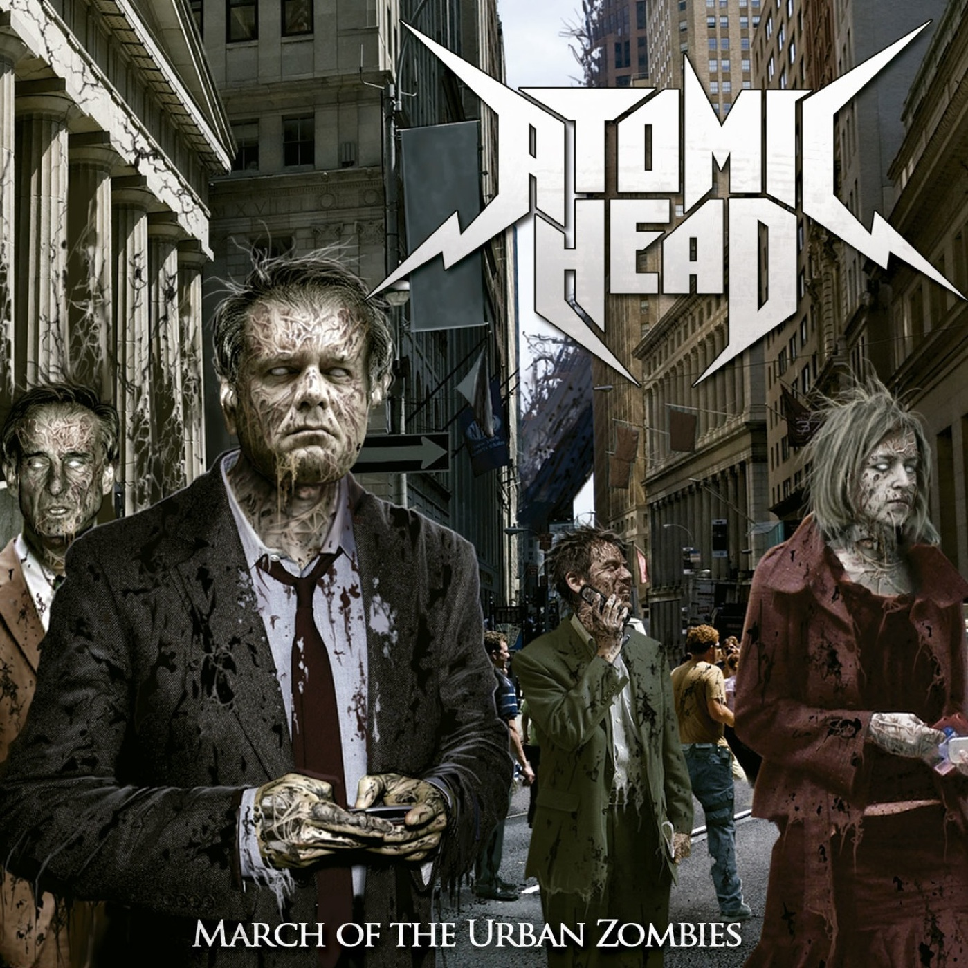 March Of The Urban Zombies